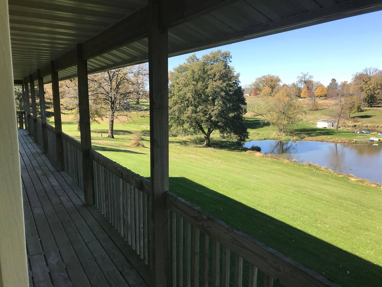 Cox Building porch view
