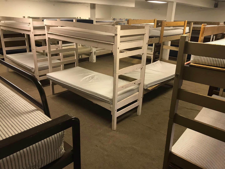 Founders basement bunk room