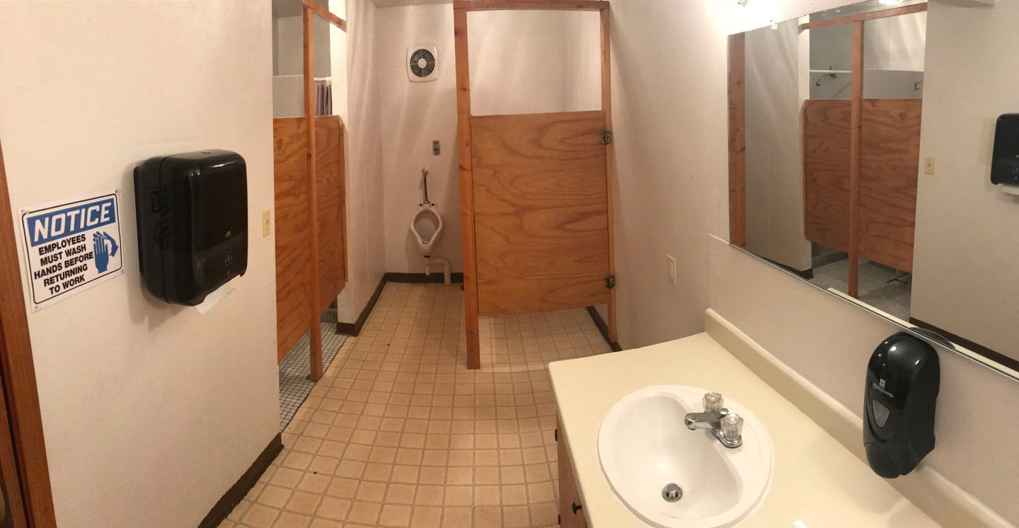 Founders basement restroom