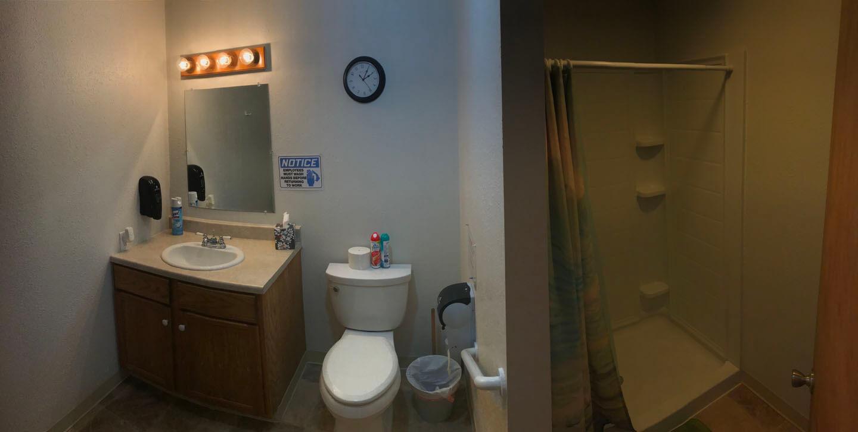 Founders bathroom 1st floor
